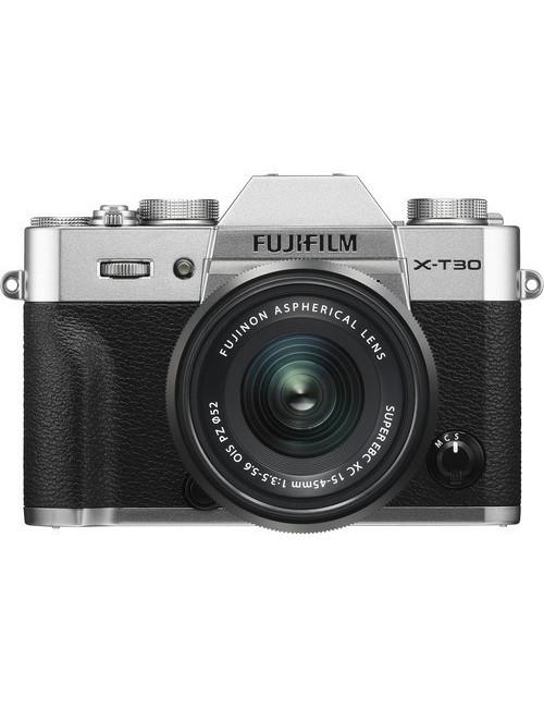 Cámara FujiFilm X-E3 SILVER para Fotografía y Video 4K de 24,3MP con lente 23mm F2