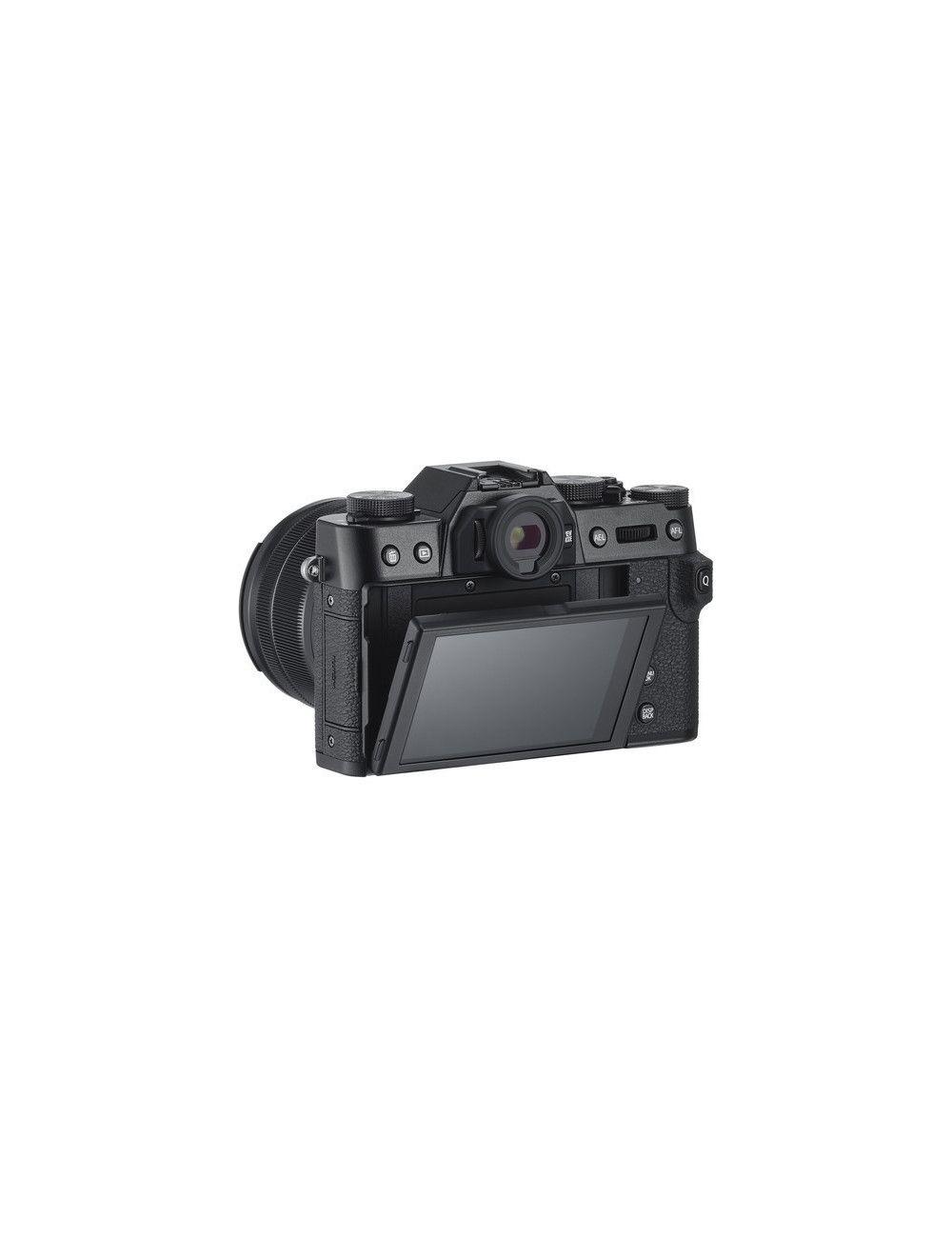 Cámara FujiFilm X-E3 NEGRA 24,3MP con lente 23mm F2 en Chile www.apertura.cl