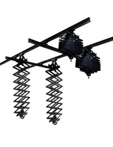 Kit - Tripode Fluido E-image con patas Manfrotto en Chile www.apertura.cl