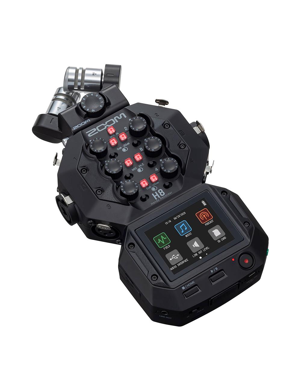 Mini Caña de audio 1.8m E-image Profesional BA06 puedes pasar cable por su interior