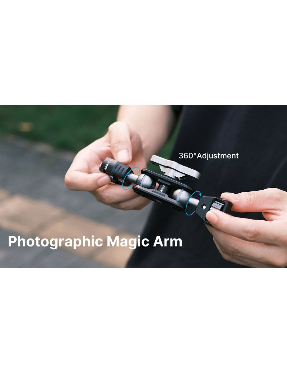 Joby Gorillapod RIG para cámaras de hasta 5 Kilos con dos brazos para accesorios
