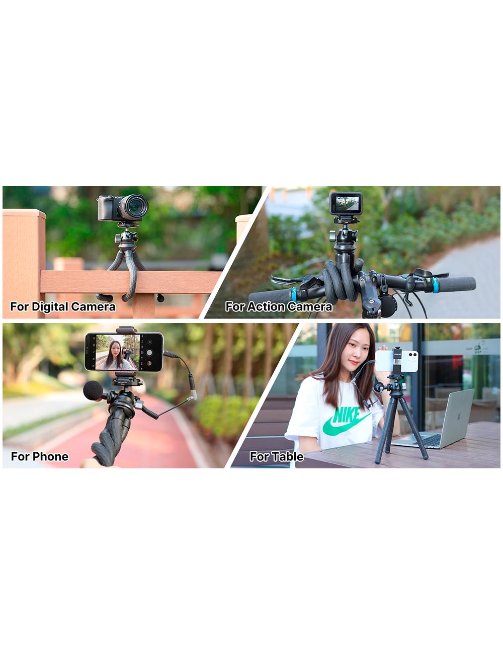 Boya BY-BM2021 Micrófono Super Cardioide con suspensión para cámaras y smartphone