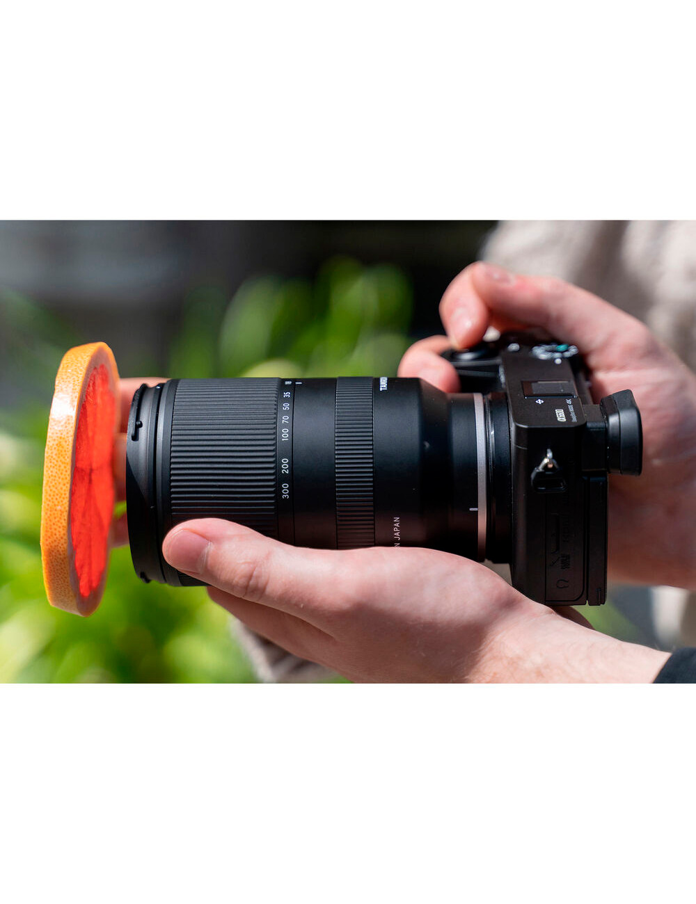 Yongnuo EF-E II Adaptador Para Usar Lentes Canon en Cuerpo SONY E en Chile Apertura.cl