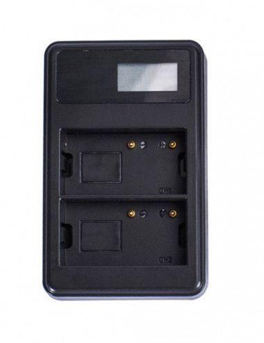 Panel Aputure AL-H528W con Tripode y Baterias - Angular