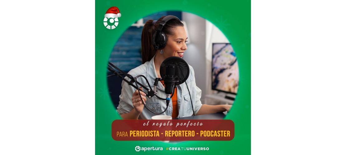 Periodista - Reportero - Podcaster