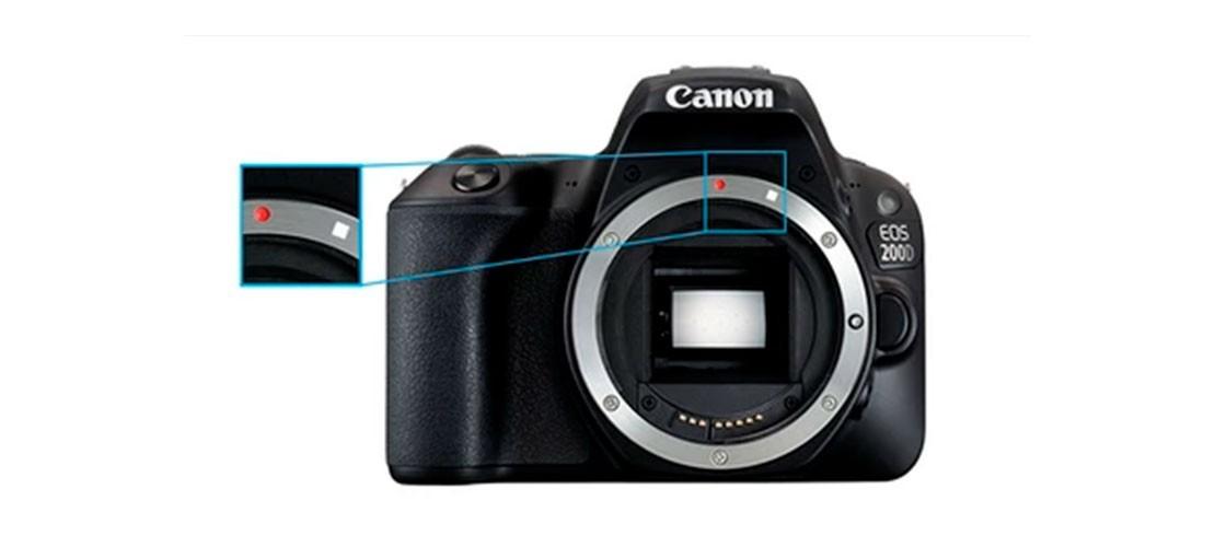 Montura Canon Reflex