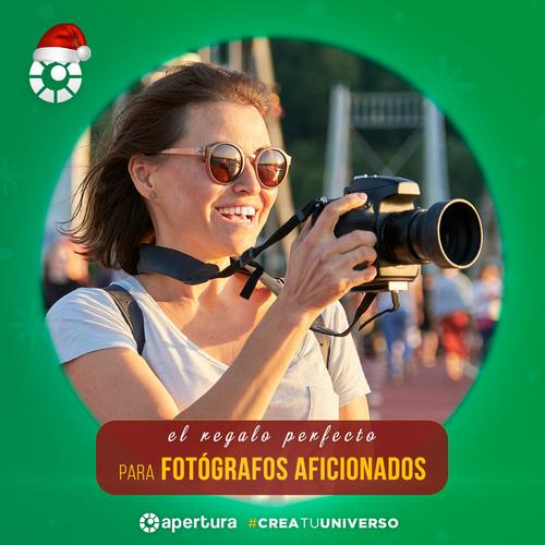 Sugerencias de regalos para fotógrafos aficionados