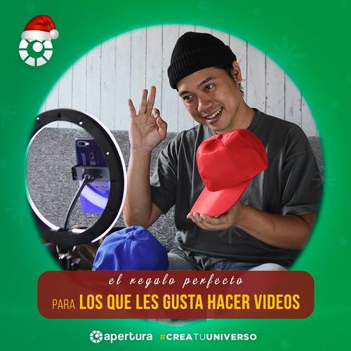 Sugerencias de regalos para los que les gusta hacer videos