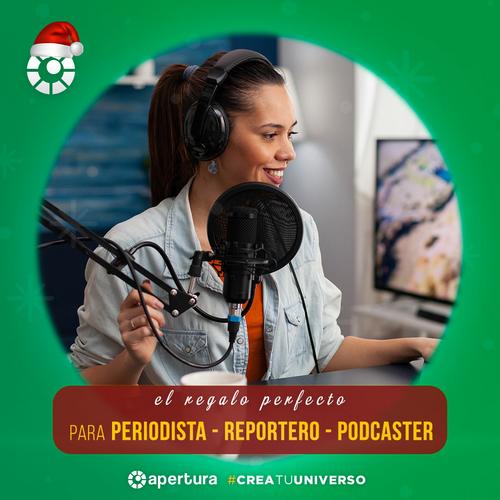 Sugerencias de regalos para periodísticas, podcasters y reporteros