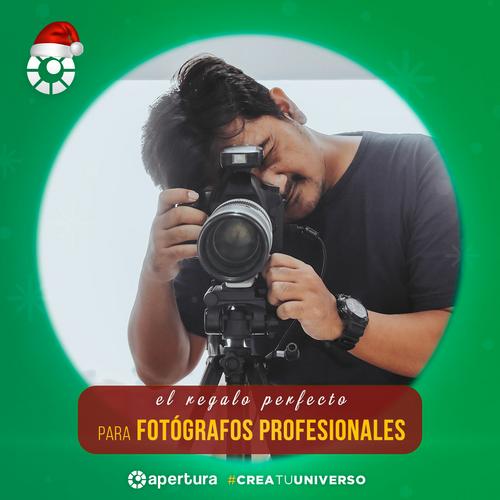 Guía de regalos para fotógrafos profesionales